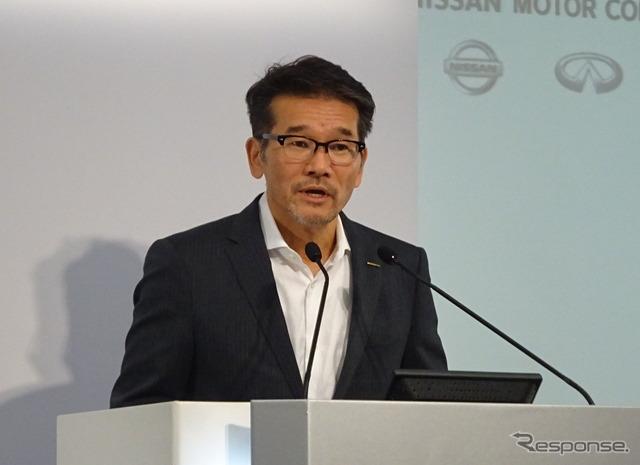 Nissan's Corporate Vice President, Joji Tagawa