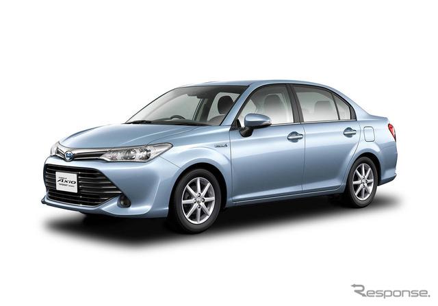 Toyota Corolla Axio (reference image)