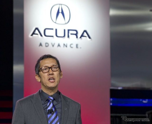 John Ikeda was named new Vice President of Acura