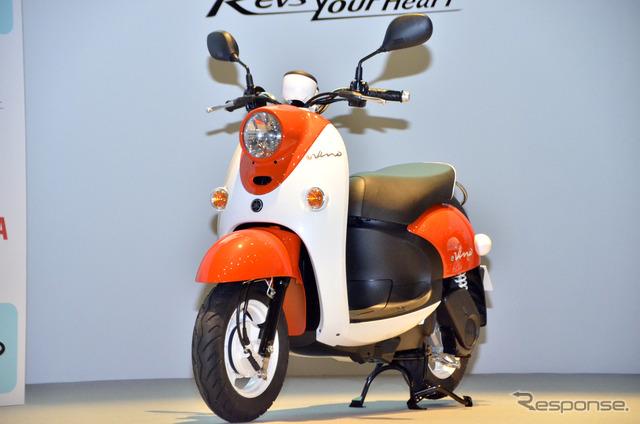 """7/29 in Tokyo, new electric scooter """"E-Vino (evano) press conference"""