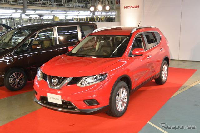 Nissan vehicle x-trail hybrid