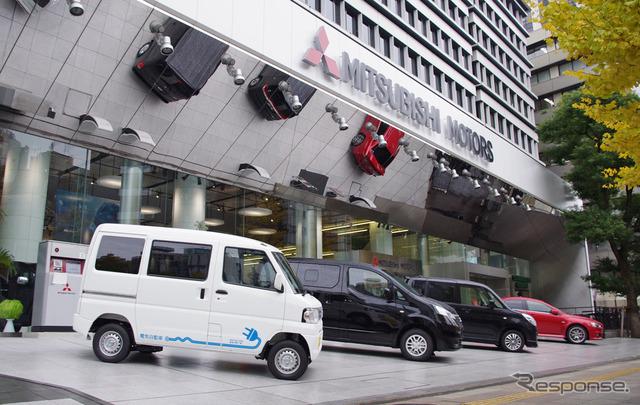 Mitsubishi Motors headquarters (the reference image)