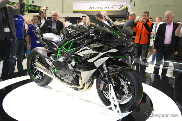 Kawasaki-Ninja H2R (Germany, intermot 2014)