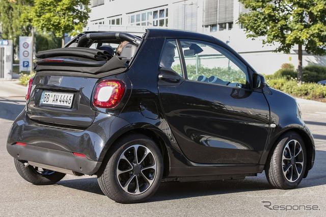 Smart Fortwo cabriolet scoop