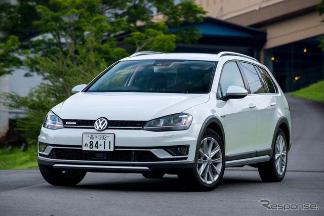 VW Golf track all TSI 4MOTION Upgrade Package