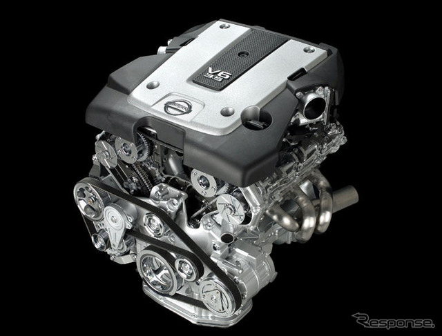 Nissan VQ engine new 315 PS output
