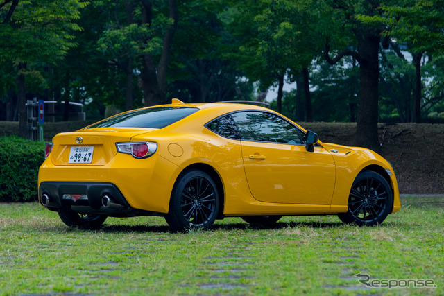 """Toyota 86 GT """"Yellow Limited"""""""