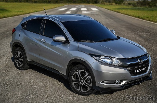 New HR-v Brazil specification cars will