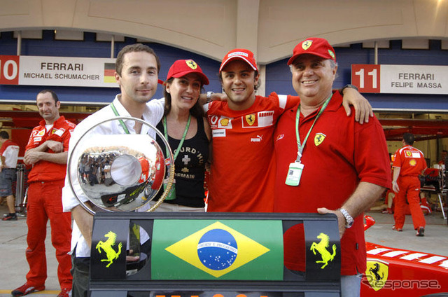 Massa and family
