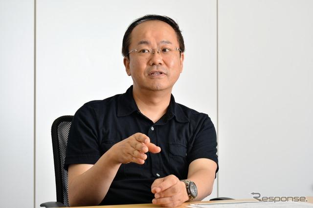 Tectum President Naoki Tomita