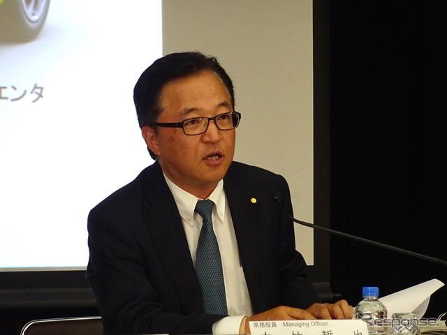 Tetsuya, managing officer, Toyota Motor OTAKE