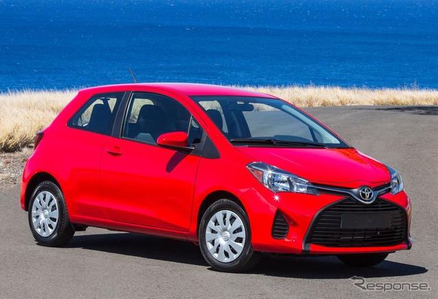 Toyota Yaris (Japan name: VITZ) model 2015