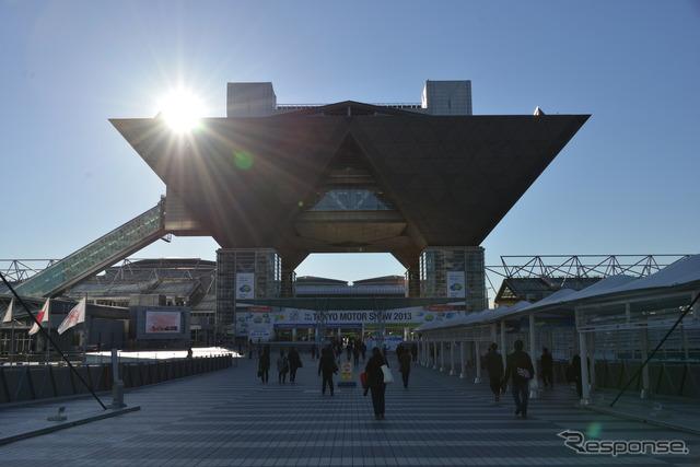 Tokyo Big sight, Tokyo Motor Show (photos of 2013)