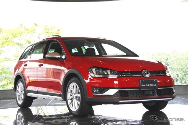 VW Golf-all tracks