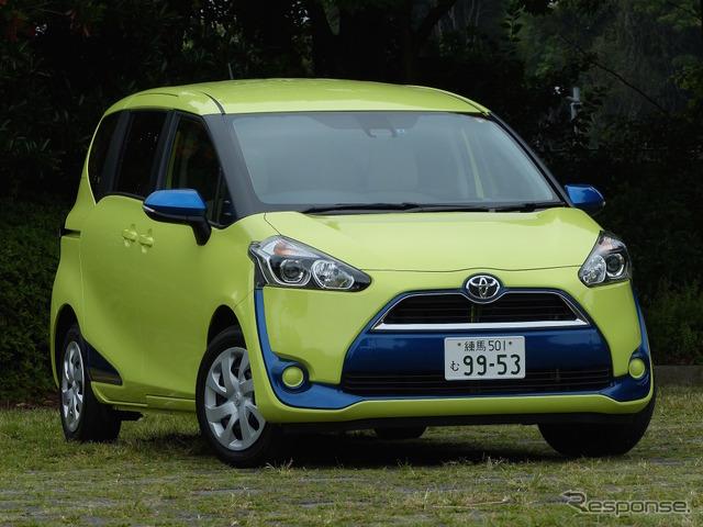 Toyota Sienta X 7-seater