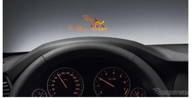 Japan Seiki BMW5 supplying for series head-up display (the reference image)