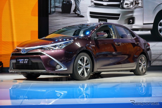 Levin hybrid sales in China (Shanghai motor show 15)