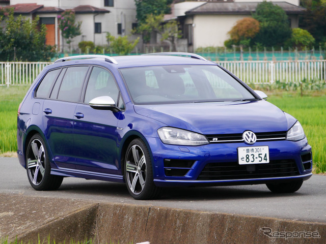 VW Golf R valiant