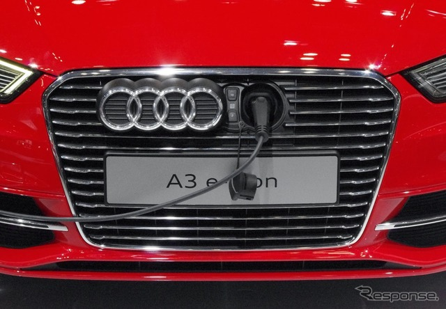 Audi electrical automobile A3 e-Tron (the reference image)