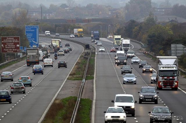 United Kingdom motorways (reference image)