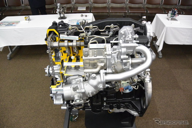 Toyota next-generation global direct-injection turbo-diesel engine GD engine
