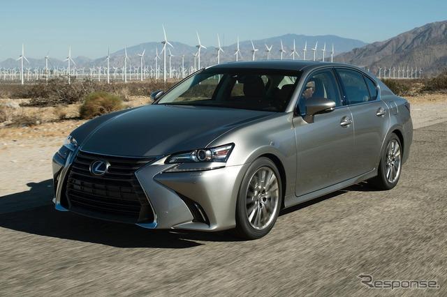 The 2016 Lexus GS