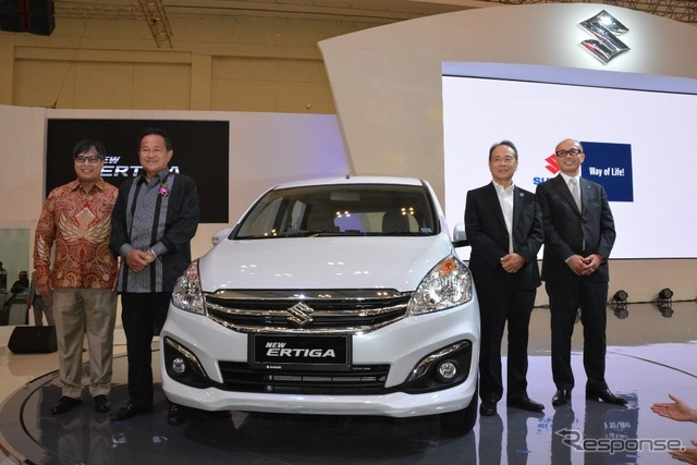Suzuki Ertiga at 2015 Gaikindo Indonesia International Auto Show