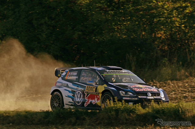 Round 9 of the WRC rally Germany