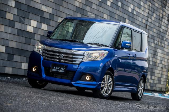 Suzuki Solio Hybrid MZ