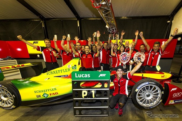 """""""ABT Schaeffler"""" team of Germany in the race to the formula E"""