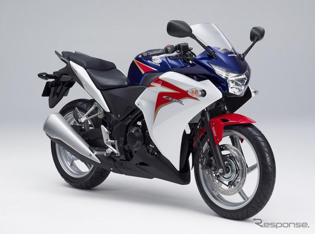 Honda CBR250R (reference image)