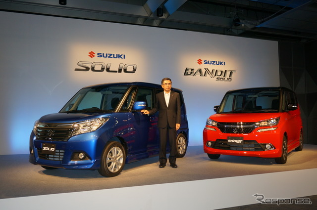 All-new Suzuki Solio