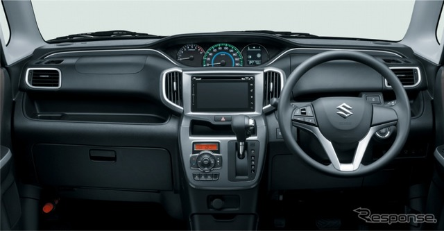 Harman infotainment system on the Suzuki Solio