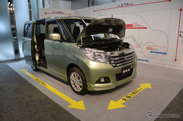 Suzuki Solio new presentation
