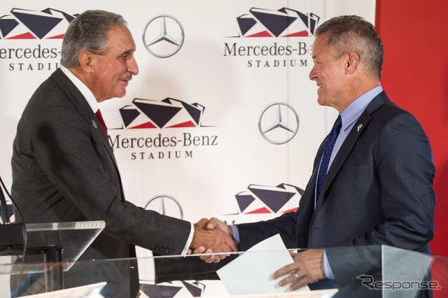Mercedes-Benz gets naming rights for Atlanta Stadium in the United States