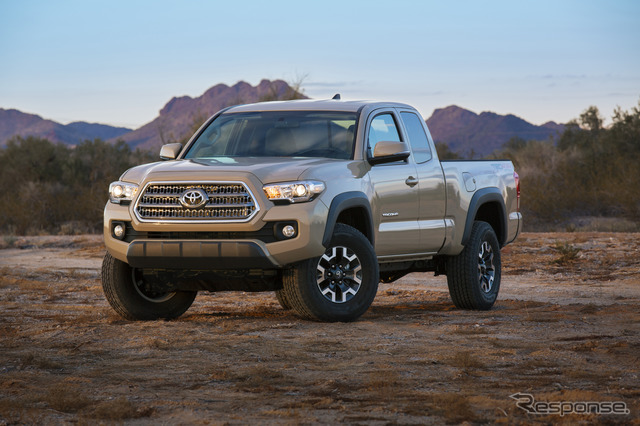 Toyota's all-new Tacoma TRD Off-Road