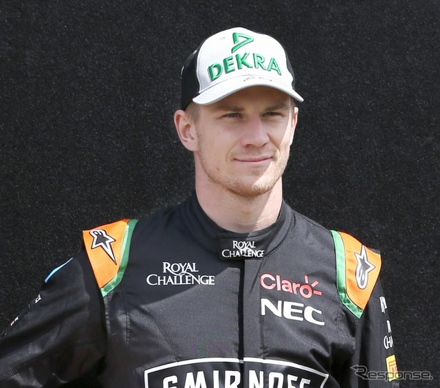 Nico hulkenberg (Force India)