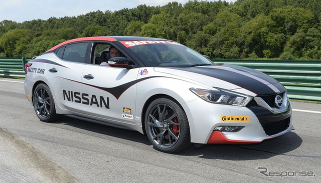 New Nissan Maxima safety