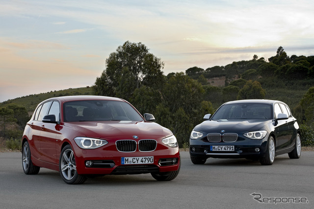BMW 1 series (reference image)
