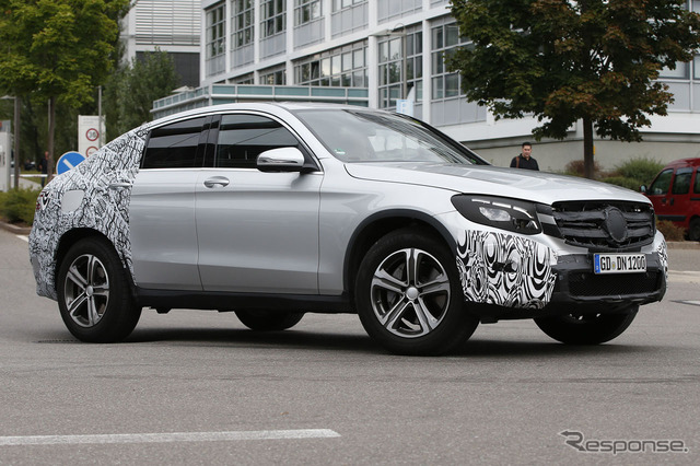 Mercedes-Benz GLC Coupe scoop