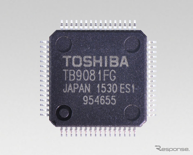 "Toshiba for EPS brushless motor pre-driver IC ""tb9071fg"""