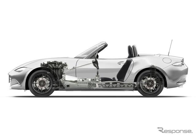 Mazda Roadster's new 6-speed manual transmission