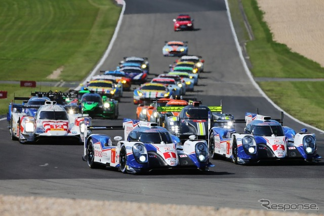 FIA World Endurance Championship (WEC) No. 4 round Nurburgring 6 hour race