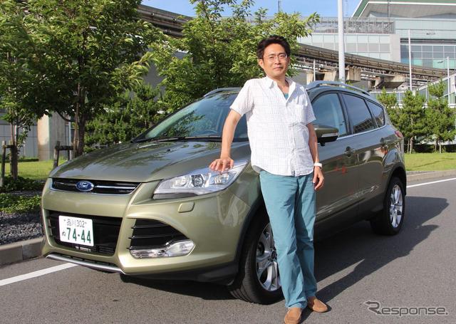 Ford Cougar titanium and Mr. y. morino