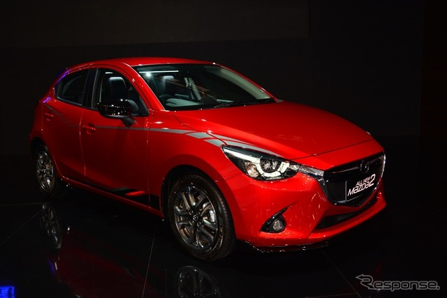 Flagship model of the Mazda Mazda 2 (Demio) (by 2015 from Indonesia International Auto Show)
