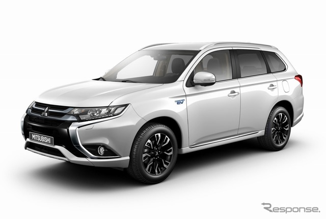 Mitsubishi Outlander PHEV new model (European spec)