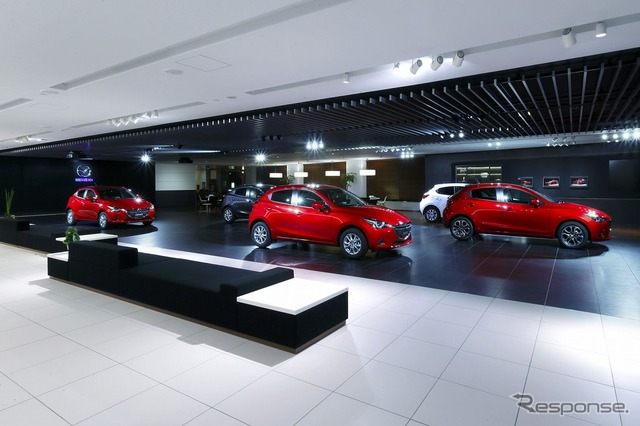 Mazda headquarters (the reference image)