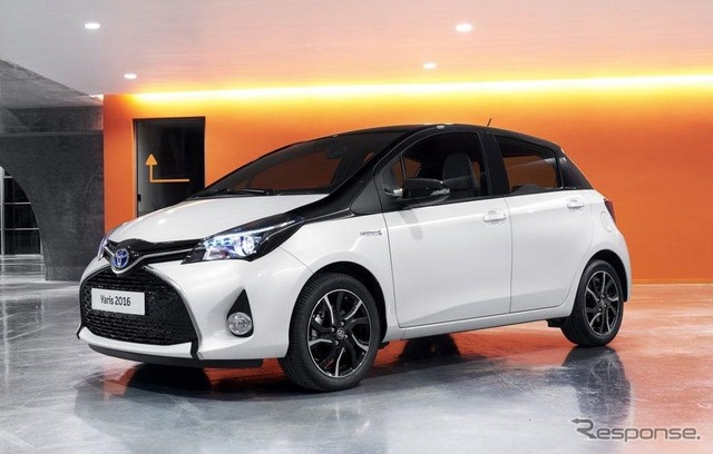 Toyota Yaris/Vitz (2016 European model)