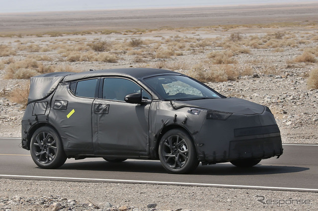 Toyota C-HR concept called Prius SUV commercial test vehicle