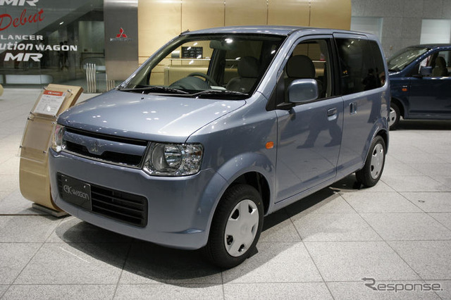 EK [Mitsubishi ใหม่ประกาศ] ตามที่เหนื่อยไม่เคยออกแบบ exterior